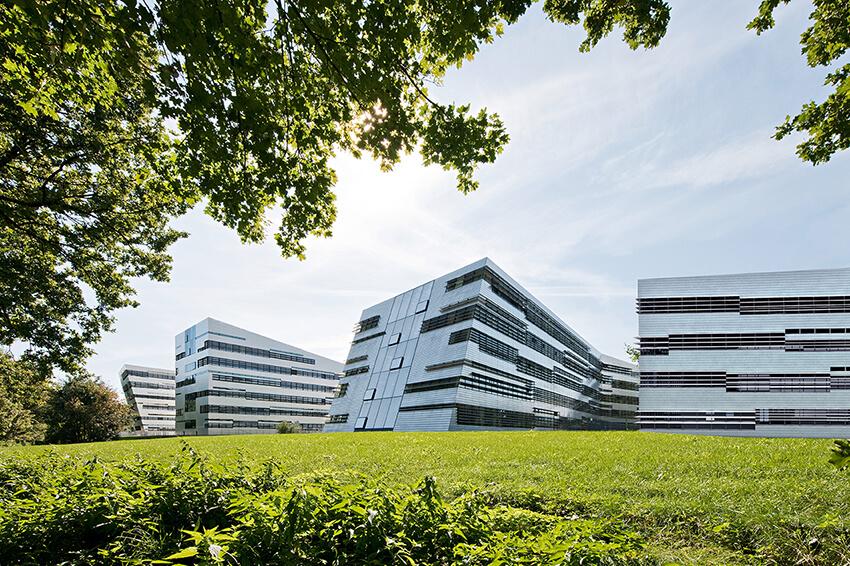 Vědecký park Johannes Kepler University, budova 4 a 5, Linz, Rakousk
