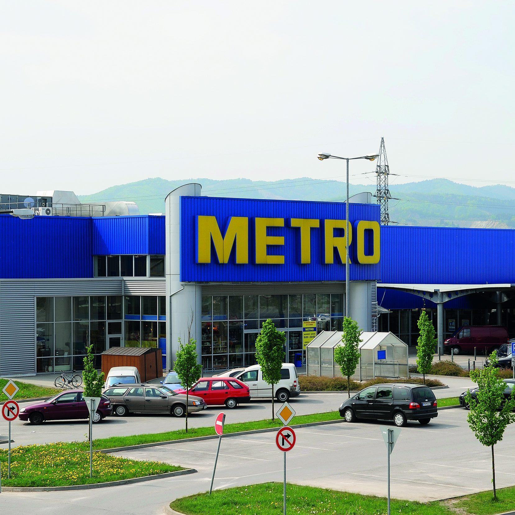 Prodejna Metro Žilině, Slovensko