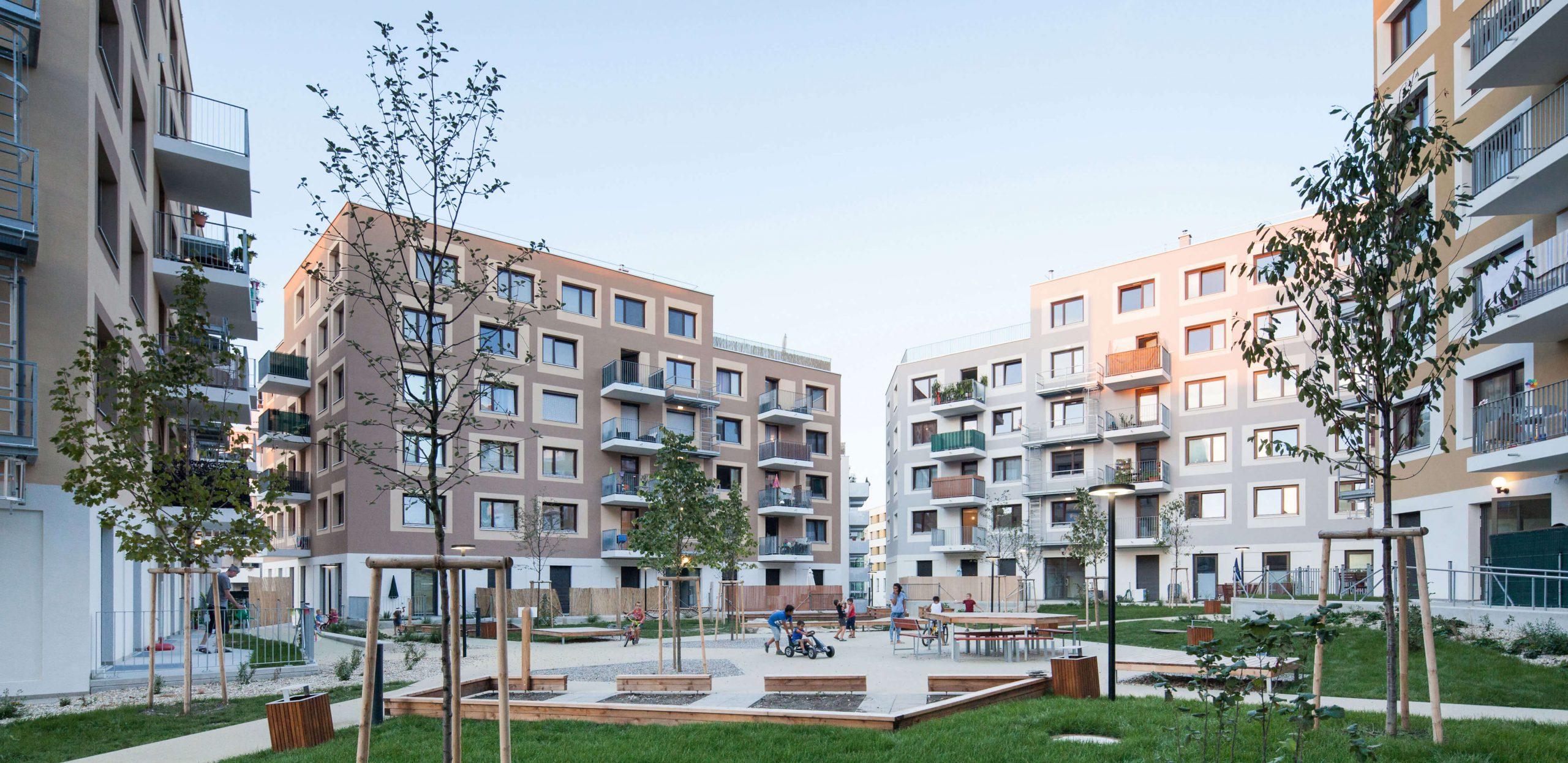 Rezidenční projekt: Dům pro život, Aspern, Rakousko