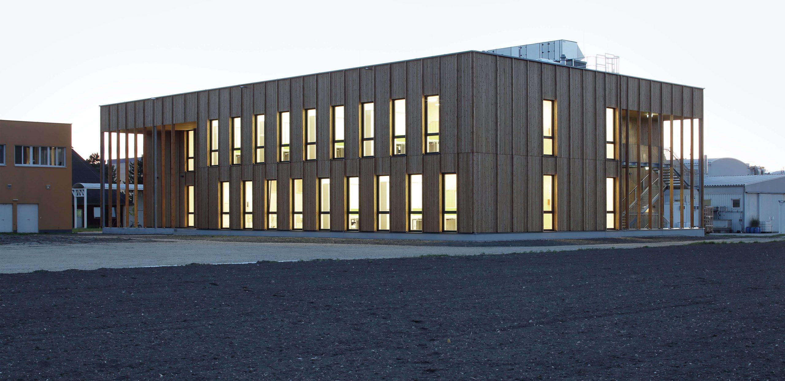 Laboratorní a kancelářská budova IFA, Tulln