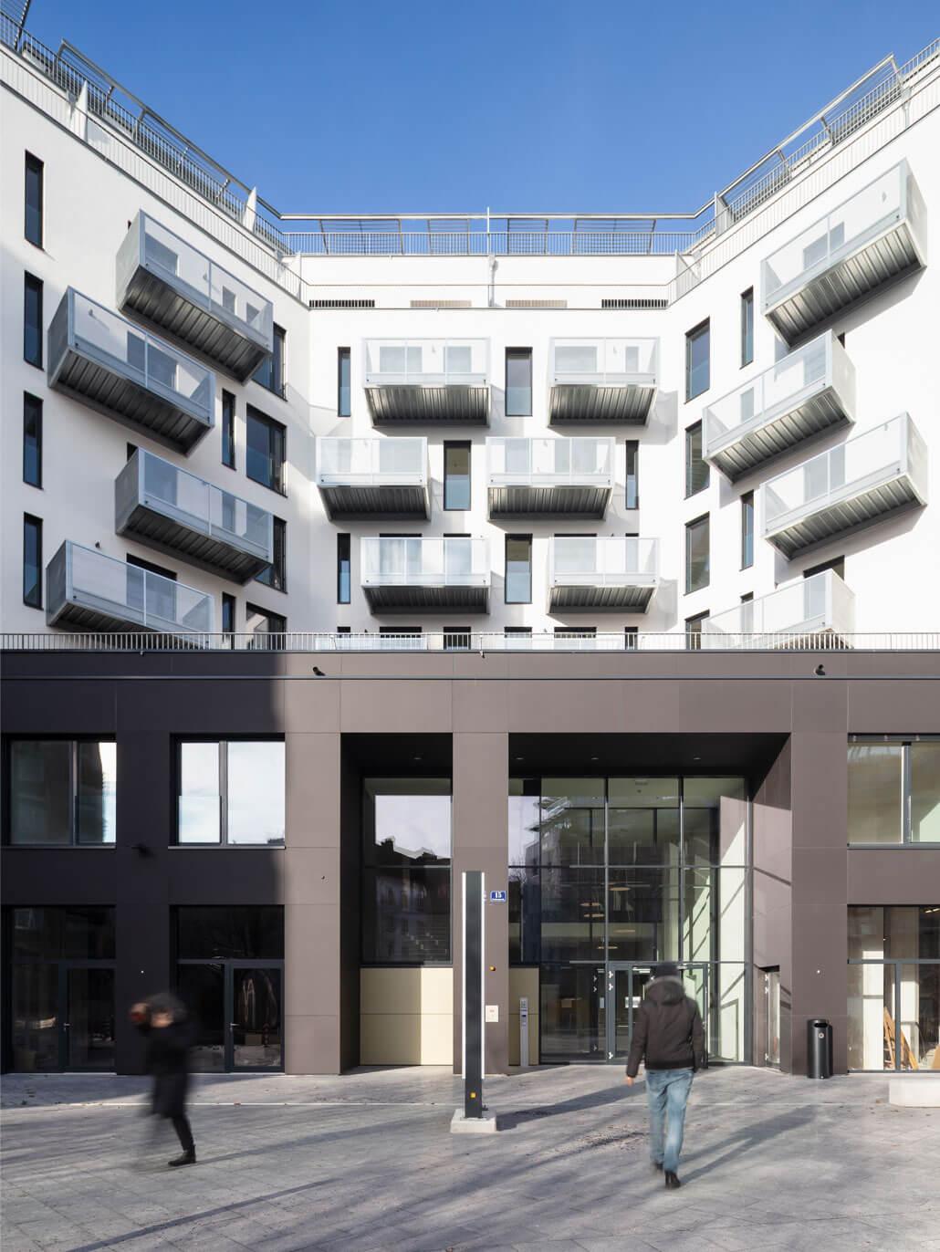 Bytový komplex Althan Park, Vídeň, Rakousko