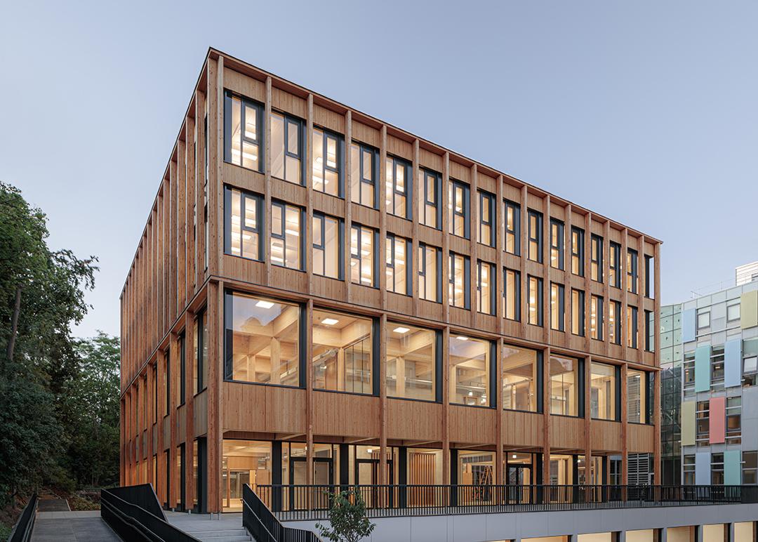 Nová budova pro Univerzitu přírodních zdrojů a biologických věd BOKU