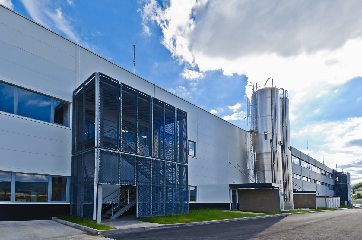 Výrobní hala s administrativní budovou, WITTE access technology, Ostrov nad Ohří