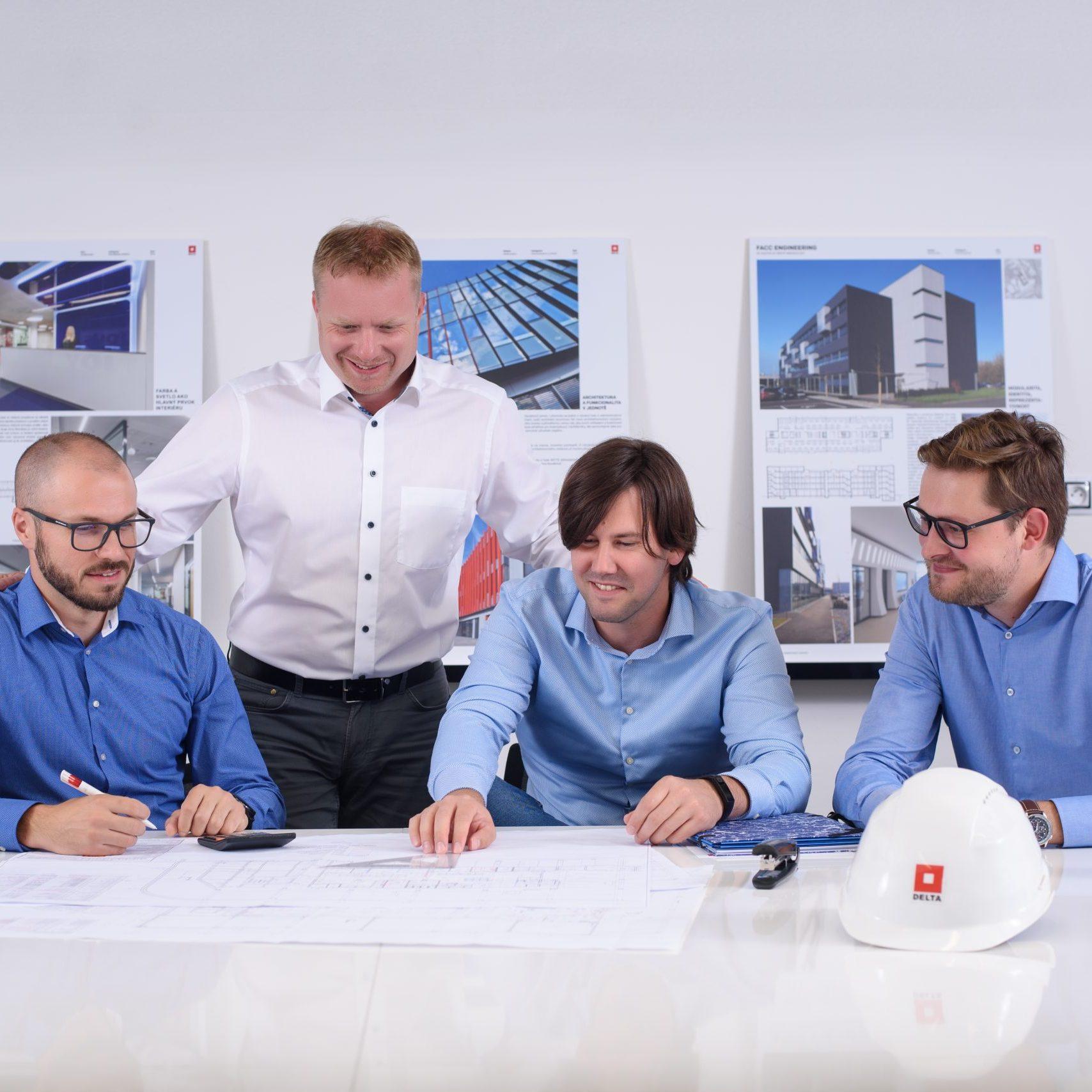 Řešení nových projektů a jiných služeb, které DELTa nabízí
