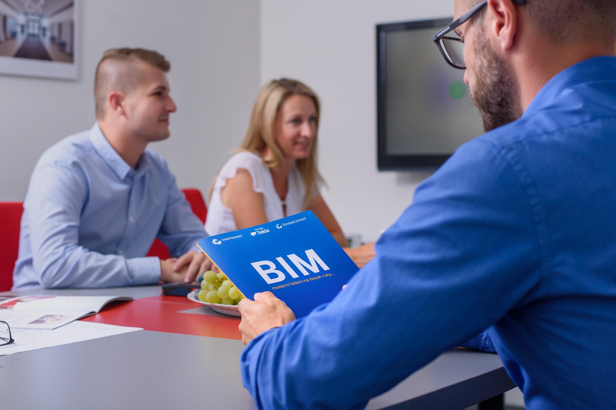 Mezi naše služby patří BIM