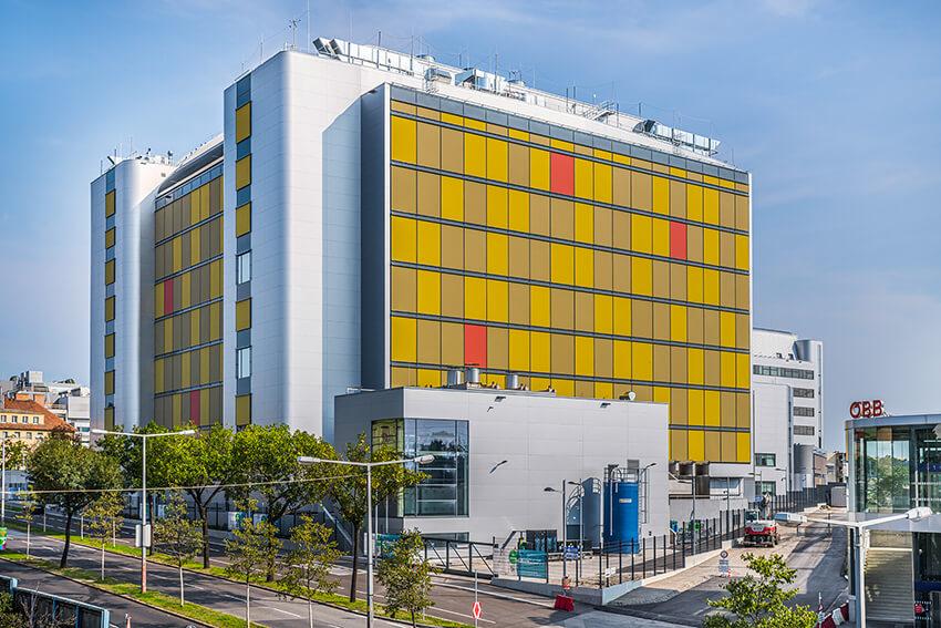 LSSC – Budova pro výrobu farmaceutických účinných látek založených na rozsáhlých buněčných kulturách – generální projektant Podsedensek Architekten