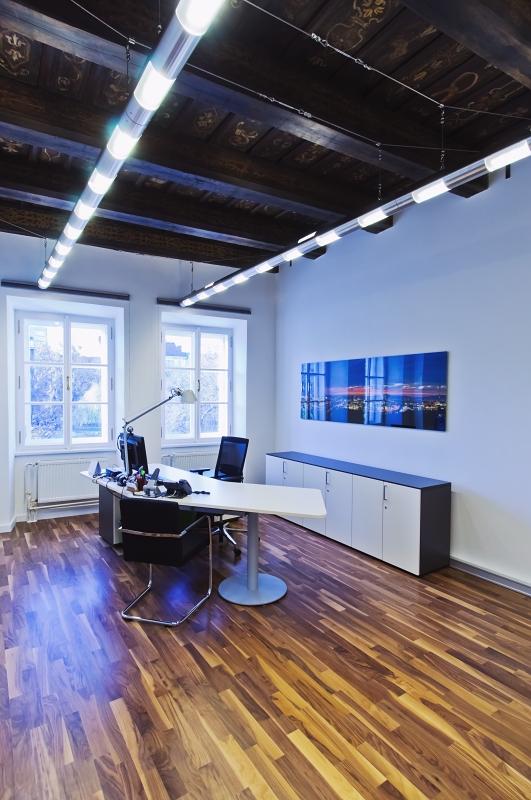 Vybavená kancelář voestalpine v Praze