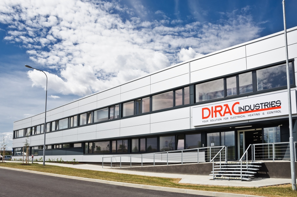 Administrativní budova společnosti Dirac Industries