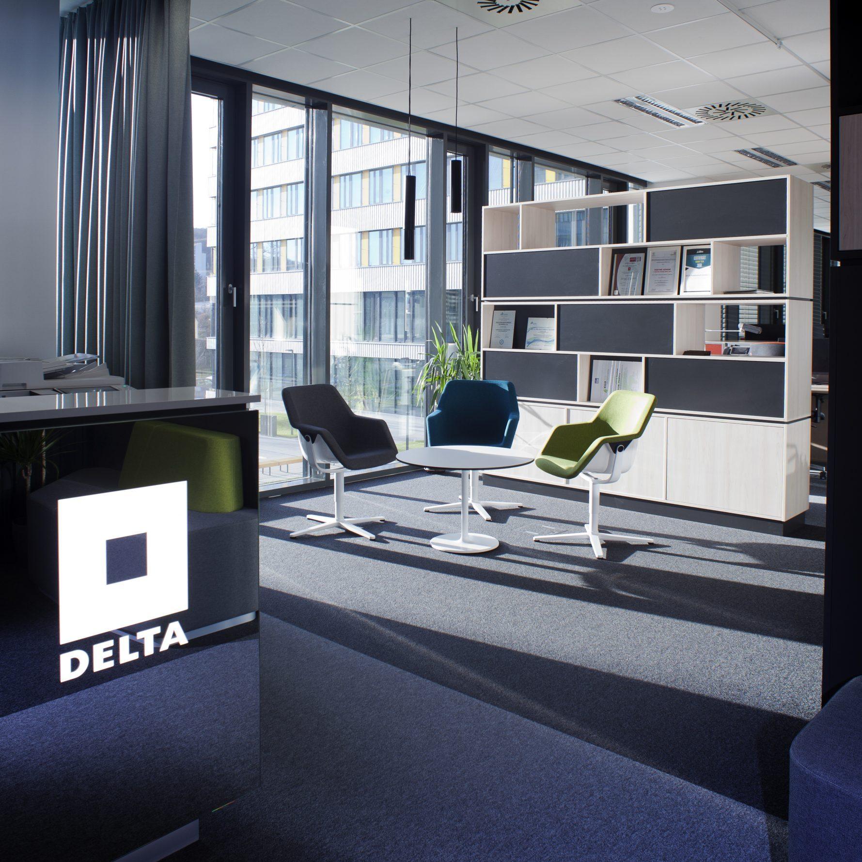 Kancelářské prostory Delta Group Slovensko v Bratislavě