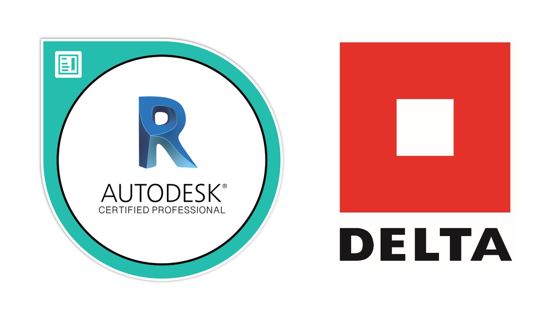 Logo Autodesk Revit a DELTA Group